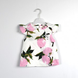 1d408a5bfb6 infant clothing summer girl cute flying sleeve baby clothes sets bloomers  top online sale