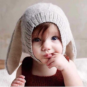 summer winter for sale new born handmade bunny ear cute corchet baby hat free knitting pattern