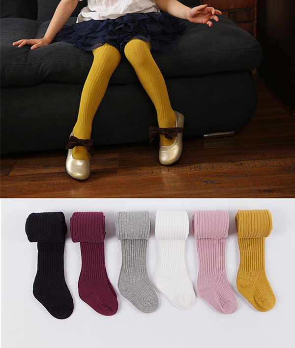 wholesale plain color infant todder tights icing baby girl leggings pants for sale