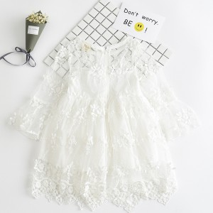 fb954db9f summer lace girl dresses toddler gowns kids baby girl party frocks ...