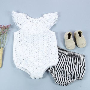find plain white cute onesies for baby girl summer rompers online sale