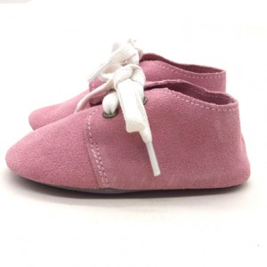 red soft suede leather cheap oxford baby shoes girl sneakers wholesale