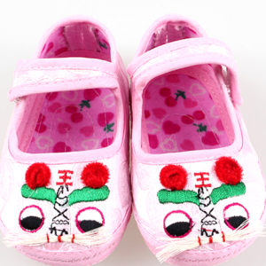 tiger head embroidery chinese traditional cute toddler baby walking shoes girls boys newborn