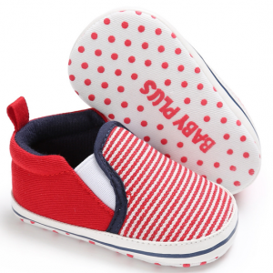 wholesale soft sole cotton slip on toddler walking kids newborn boy shoes sneakers loafers