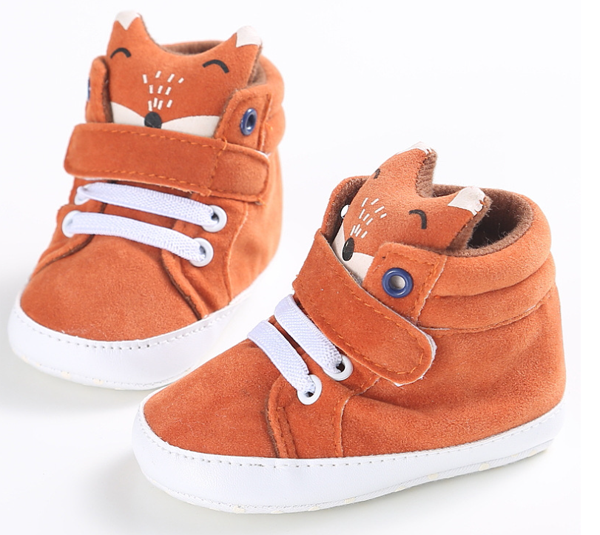 64d801bfdcf91 fox pattern fancy girls boys high top best toddler infant sneakers ...