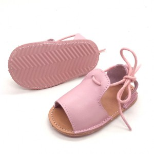 summer hard sole walking baby shoes leather handmade best toddler sandals