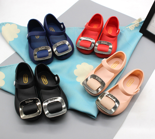 a9083b6e07b wholesale cheap clear plastic pvc girls sqare buckle kids jelly shoes  sandals