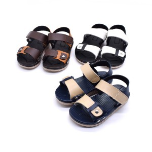 wholesale summer beach leather kids cheap best toddler boy sandals shoes