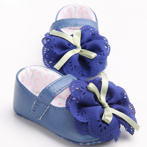 big flower cute girl mary jane infant newborn baby toddler dress shoes wholesale