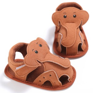 wholesale cheap handmade elephant cute girls boys baby sandals summer online