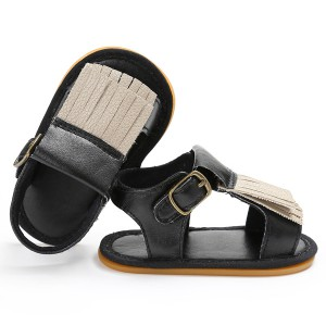 soft rubber sole leather handmade cheap kids toddler infant baby newborn moccasins sandals shoes wholesale