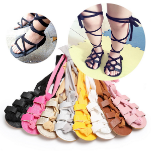 90537fd5c45c wholesale knee high rubber sole soft touch cheap summer kids toddler baby  gladiator sandals