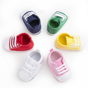 fashion high top rubber sole colorfuly cotton anti slip toddler baby sneakers wholesale