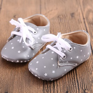 lace up best toddler walking star print soft leather oxfords baby first shoes online