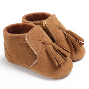 soft sole high top kids toddler infant baby leather moccasins slippers shoes