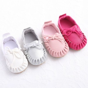 soft rubber sole leather kids toddler baby moccasins loafers shoes slippers booties online sale