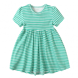 fashion baby girl summer outfits frocks short sleeve dresses for infant toddler kids on sale