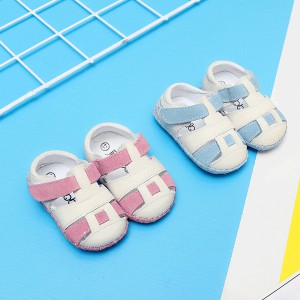 handmade fashion soft suede leather squeaky tennis casual toddler baby sound kids sport shoes sandals