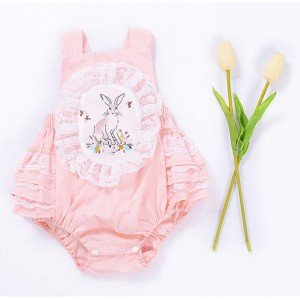 buy onilne pink cute summer sleeveless rompers onesies jumpsuit for baby girl newborn