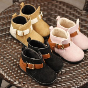 wholesale soft plush popular ankle booties toddler cheap little cowgirl kids ankle boots