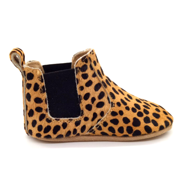 2cf997b5a23 wholesale ponyhair leopard soft sole infant booties girl boy baby walking  boots. prev