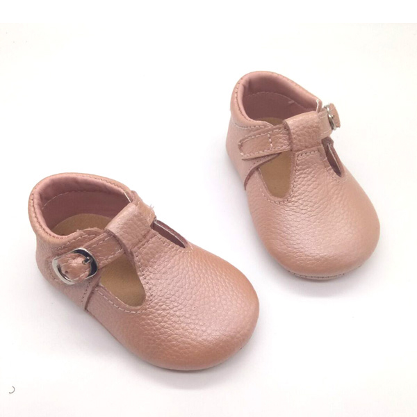 online sale pink baby shoes mary jane style genuine leather best ...
