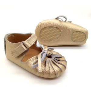 wholesale gold leather summer boy girl rubber sole baby gladiator sandals